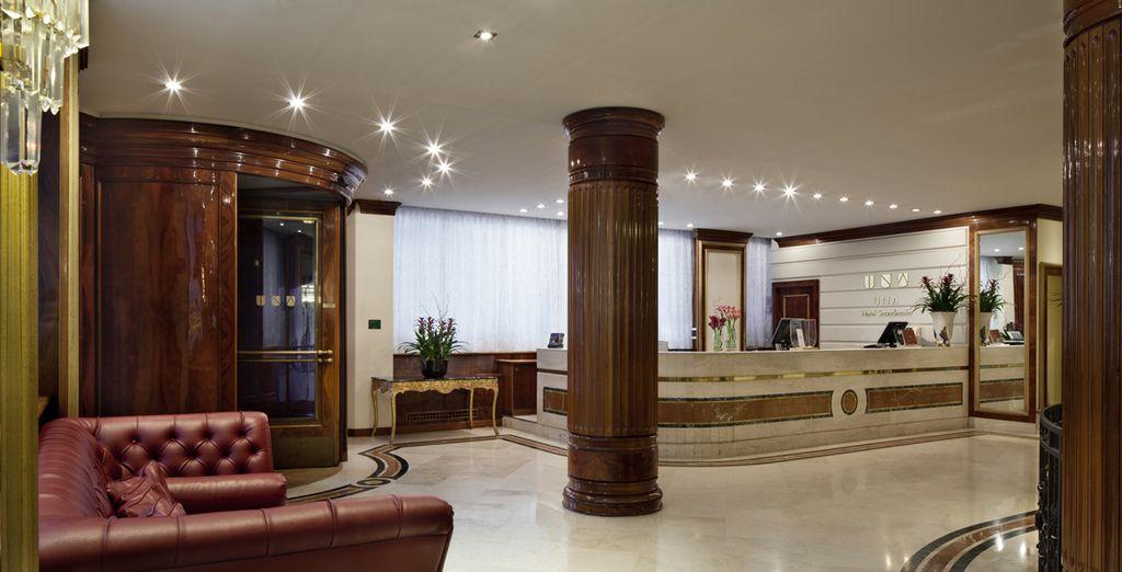 Ins elegante Hotel UNA Scandinavia