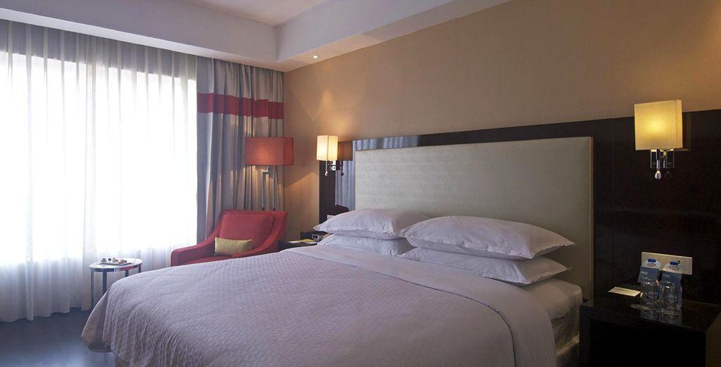 Wir haben für Sie komfortable Hotels reserviert