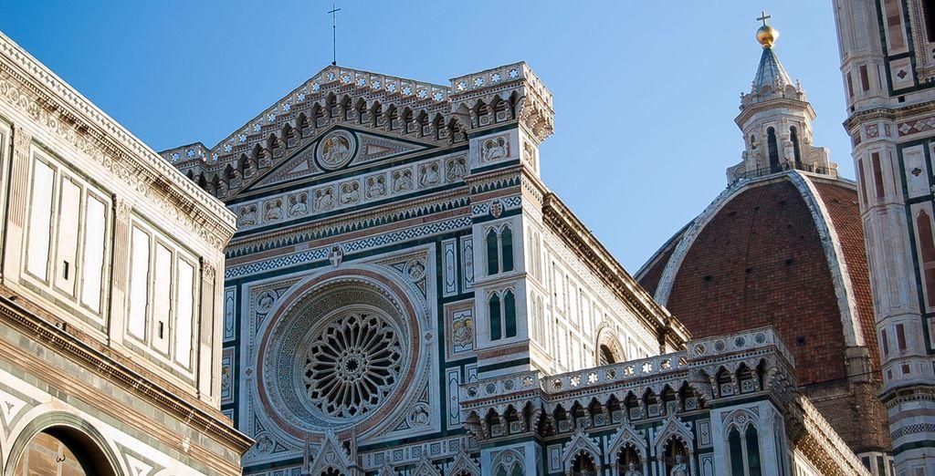 Entdecken Sie die architektonischen Schätze von Florenz