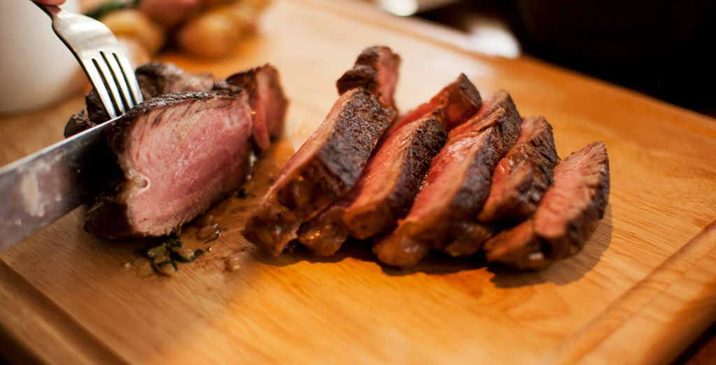 Die Gerichte werden mit frischen und hochwertigen Zutaten zubereitet