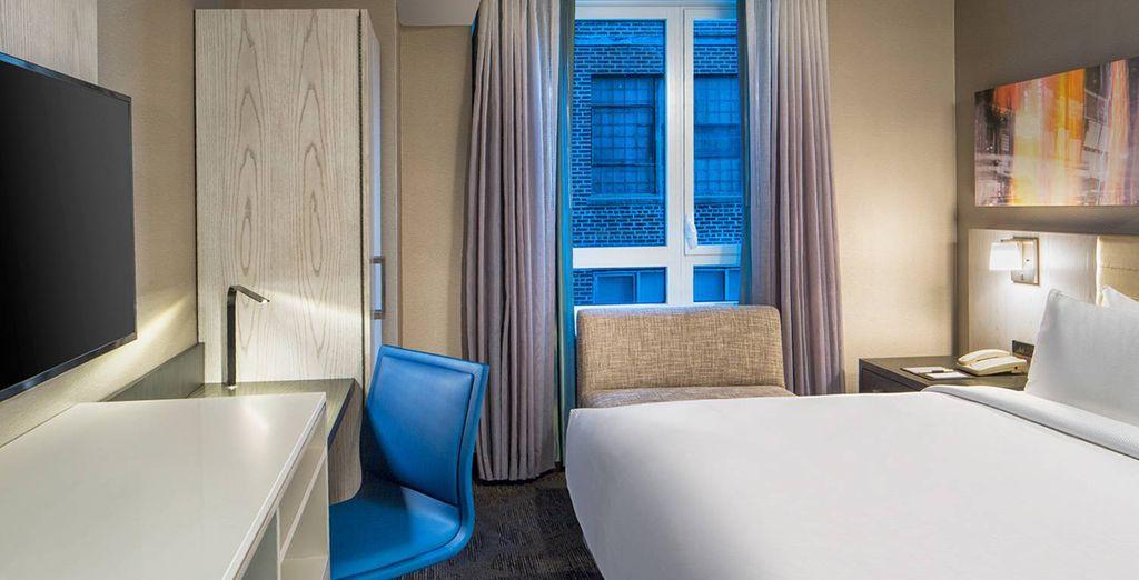Genießen Sie Ihren Aufenthalt im Standard Zimmer mit King-Size Bett