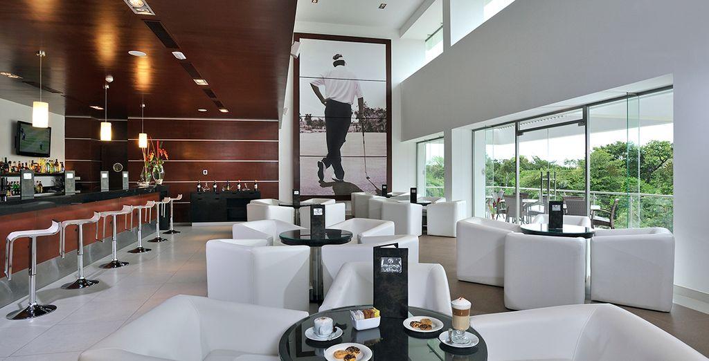 Oder Momenten der Entspannung im Club House?