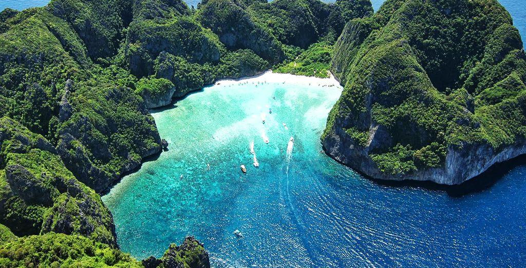 Und eine atemberaubend schöne Insel