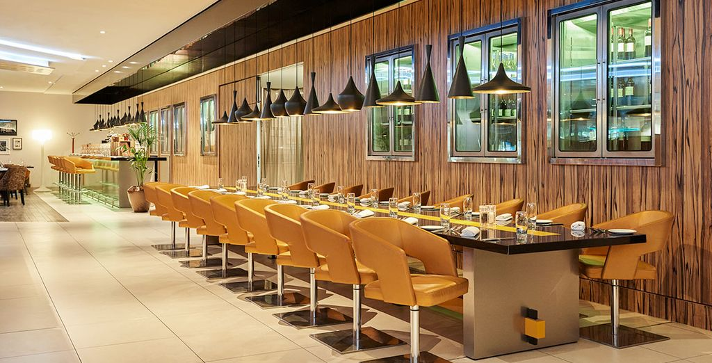 Köstliche Spezialitäten werden im Hotelrestaurant serviert