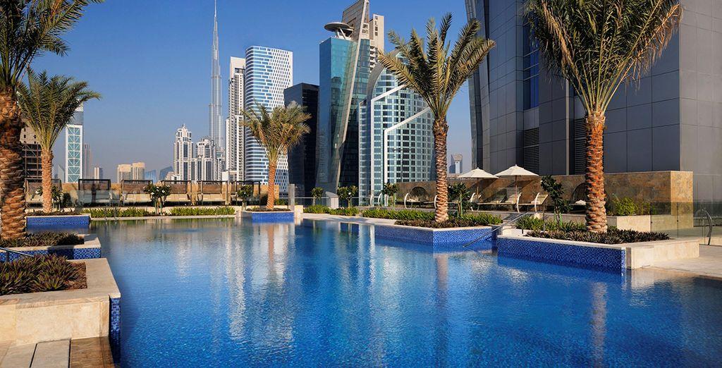 Sie werden im Herzen von Dubai verweilen