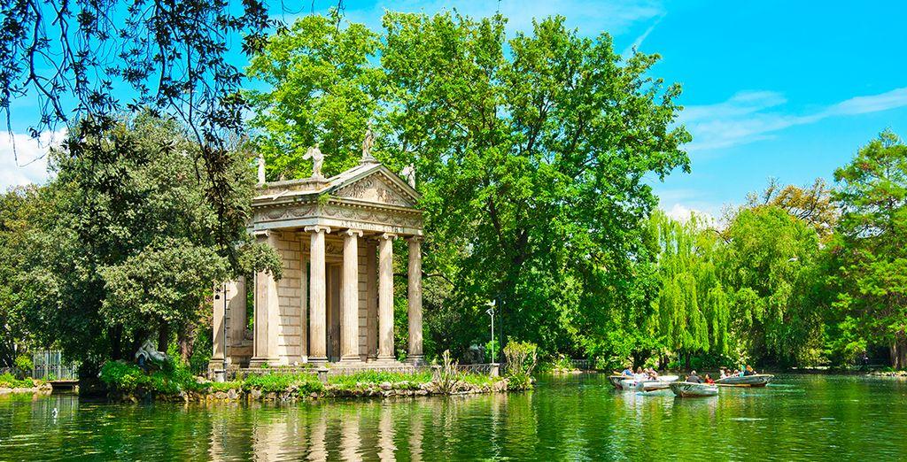 Besichtigen Sie die Villa Borghese