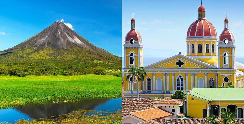 Sie sind hin und her gerissen zwischen Costa Rica und Nicaragua?