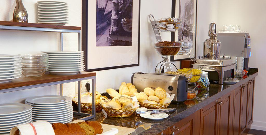Beginnen Sie Ihren Tag mit einem leckeren Frühstück