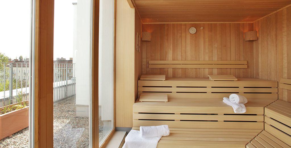 ...oder in der Sauna