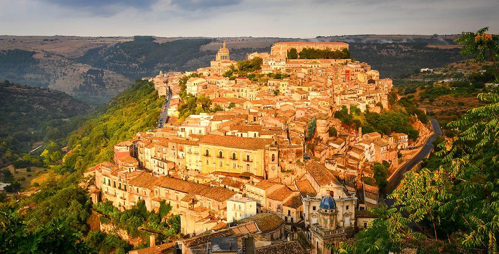 Erkunden Sie das kleine Dorf von Ragusa!