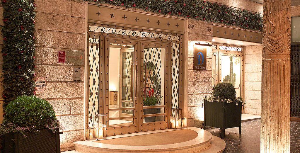 Willkommen im Duke Hotel 4*!