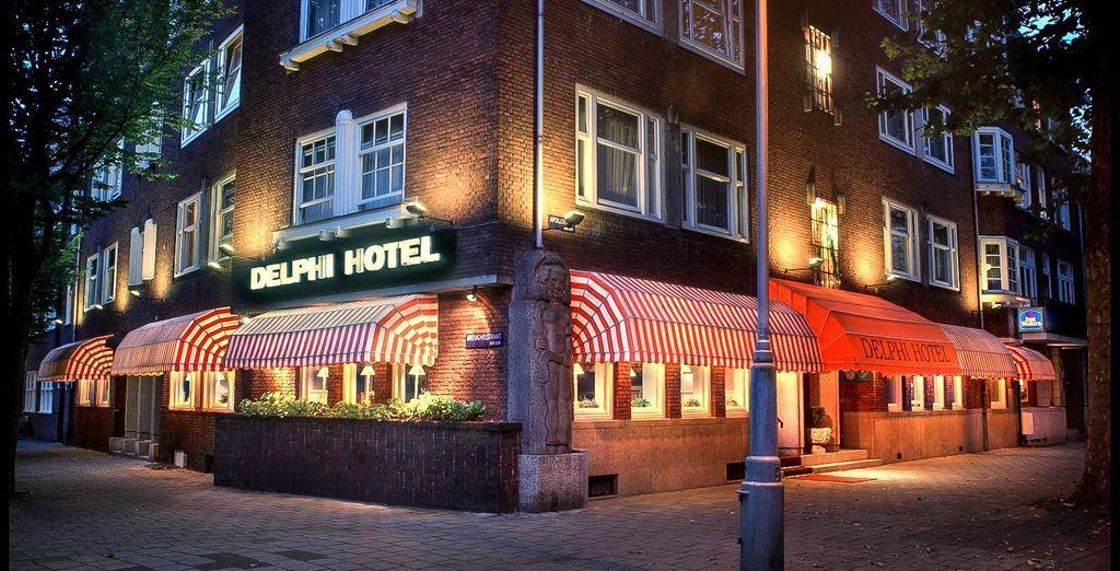 Öffnen Sie die Türen des Best Western Delphi 4* Hotels