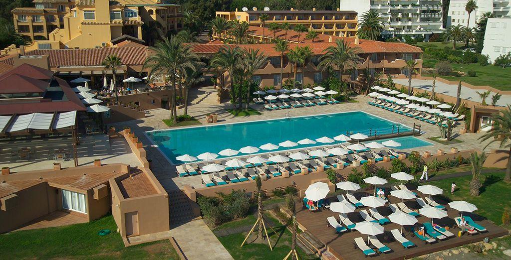 Das Hotel Guadalmina SPA & Golf Resort 4 * begrüßt Sie!