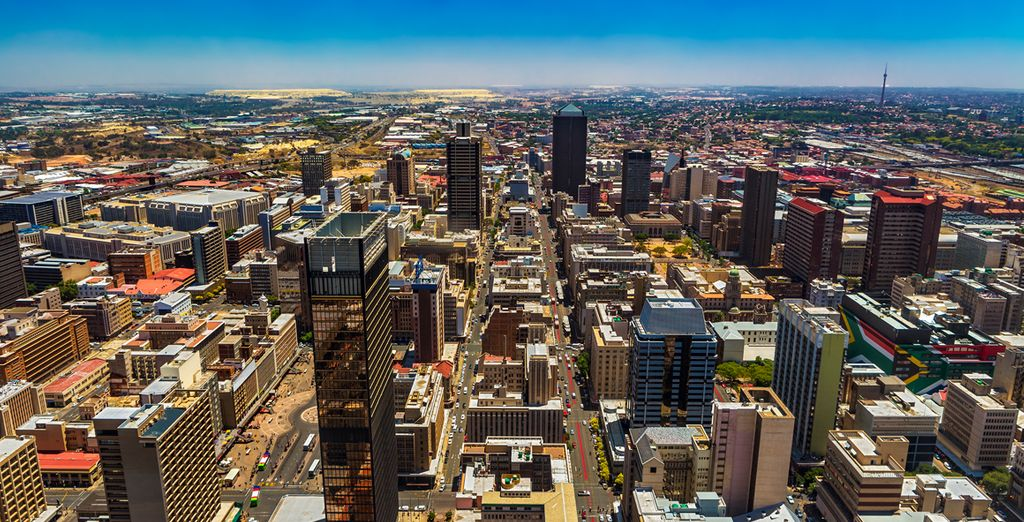 Erkunden Sie Johannesburg