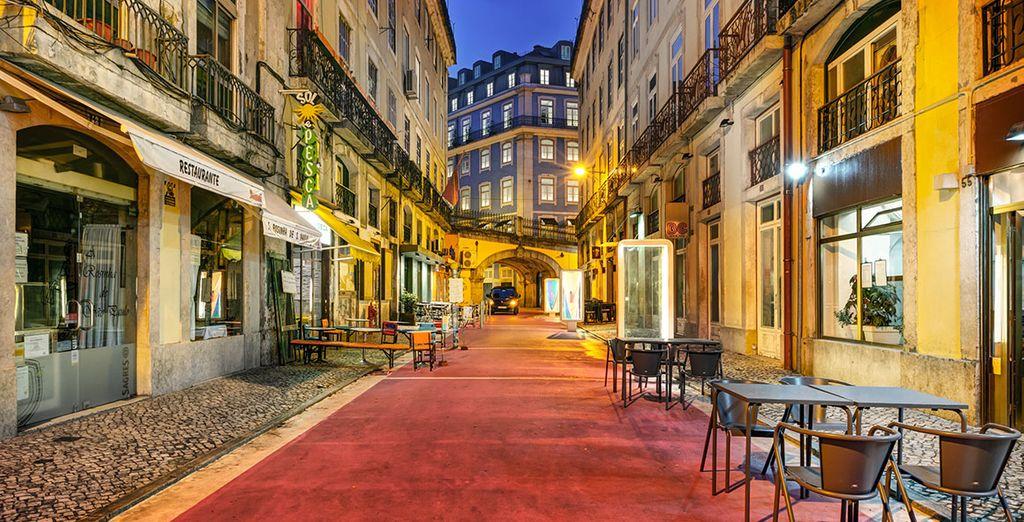 Im Herzen von Lissabon gelegen...