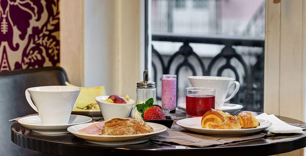 Beginnen Sie den Tag mit einem köstlichen Frühstück
