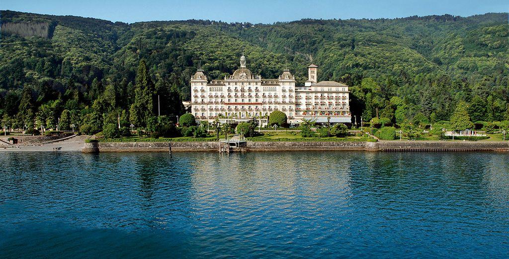 Am Ufer des schönen Lago Maggiore