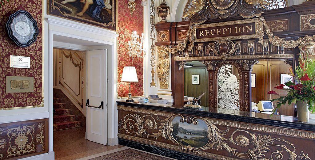 Ein majestätisches 5* Hotel...