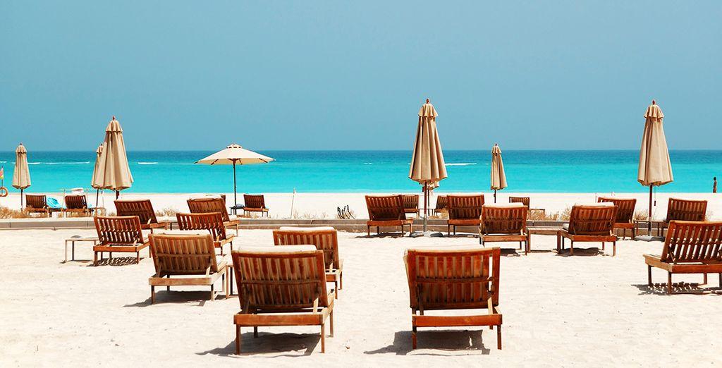 Und einem Gang zum privaten Corniche Strand