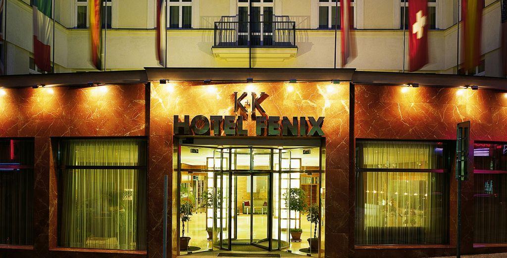 Das K + K Hotel Fenix 4* heißt Sie herzlich willkommen