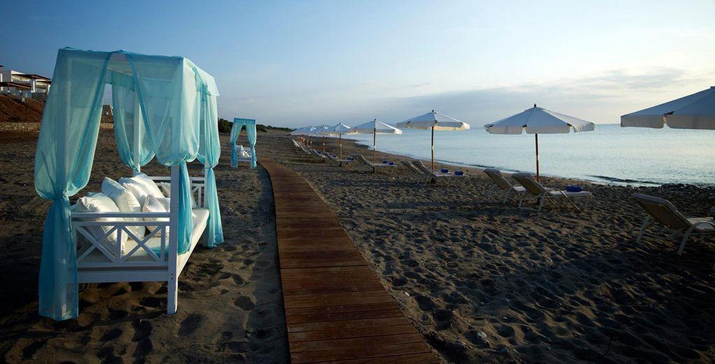 Verbringen Sie schöne Moment am Strand