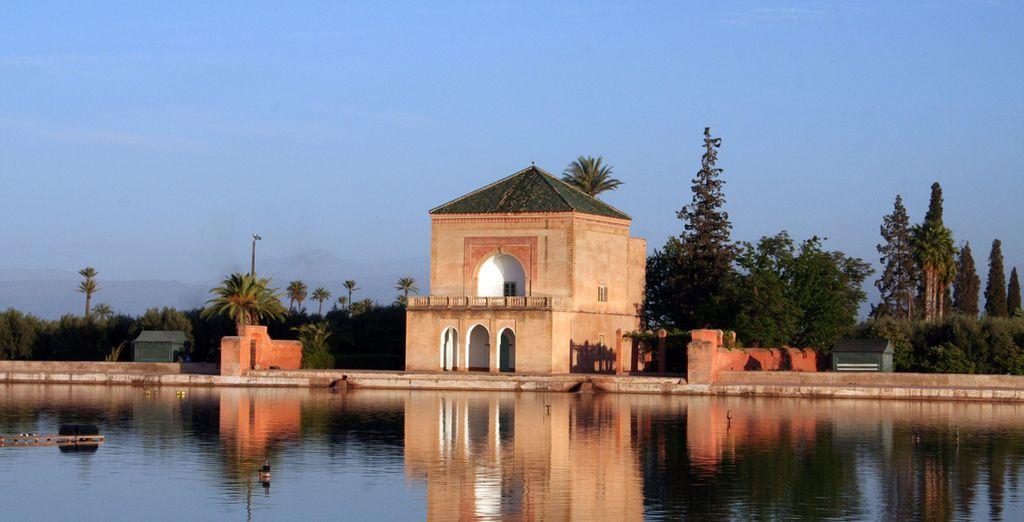 Genießen Sie Ihren Aufenthalt in Marrakesch!