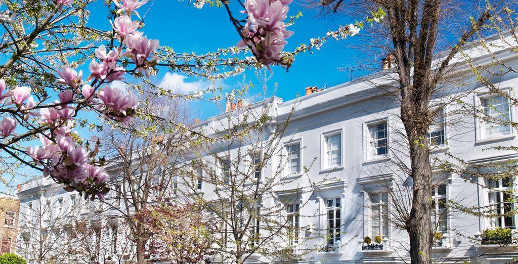 Bevor Sie sich auf den Weg machen, um diese wirklich schöne Ecke Londons zu erkunden