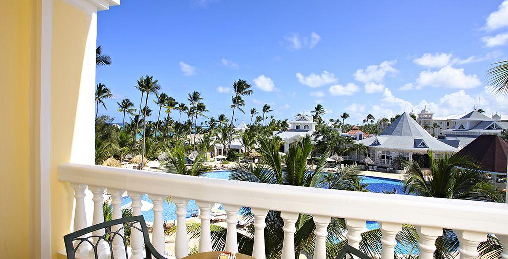 Genießen Sie die Aussicht von Ihrem Balkon