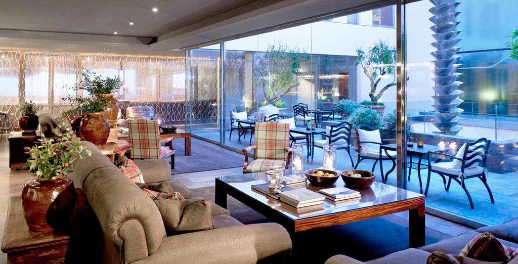 Genießen Sie die Ruhe der verschiedenen Räume dieses schönen Hotels