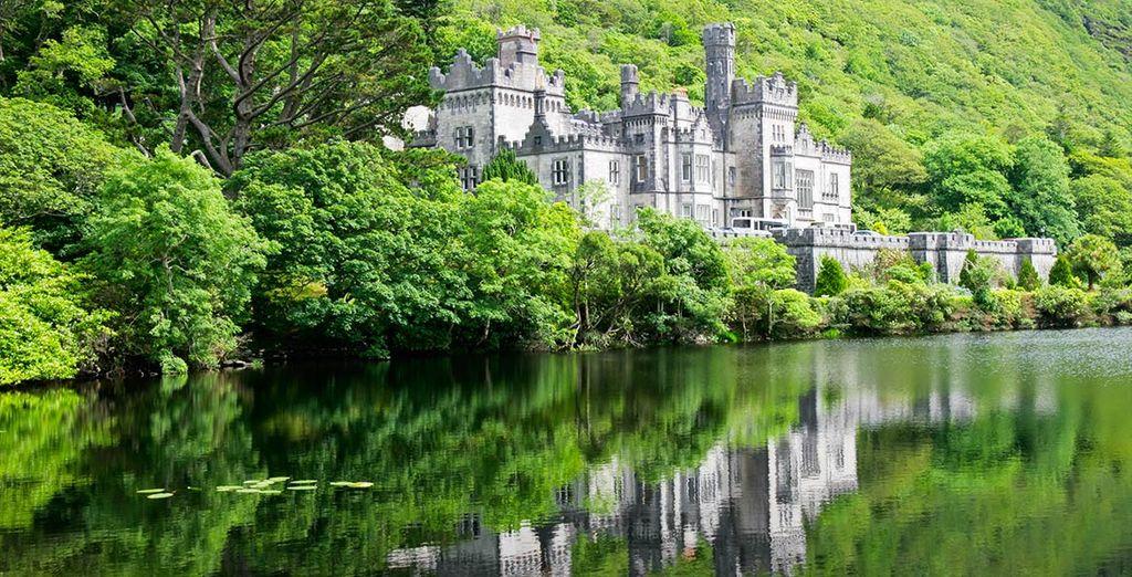 und Sie werden seine vielen Schönheiten wie Kylemore Abbey entdecken