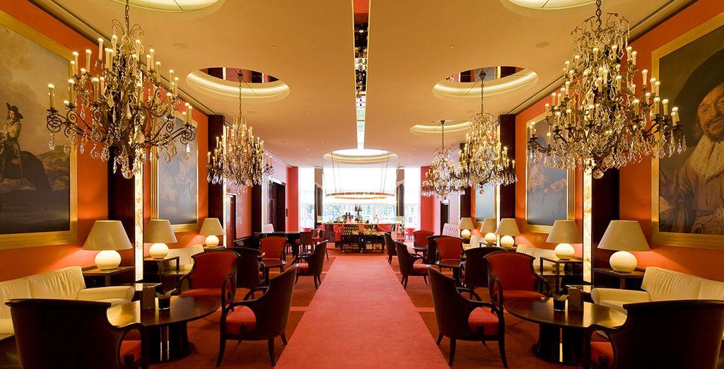 In einem fabelhaftem Luxushotel