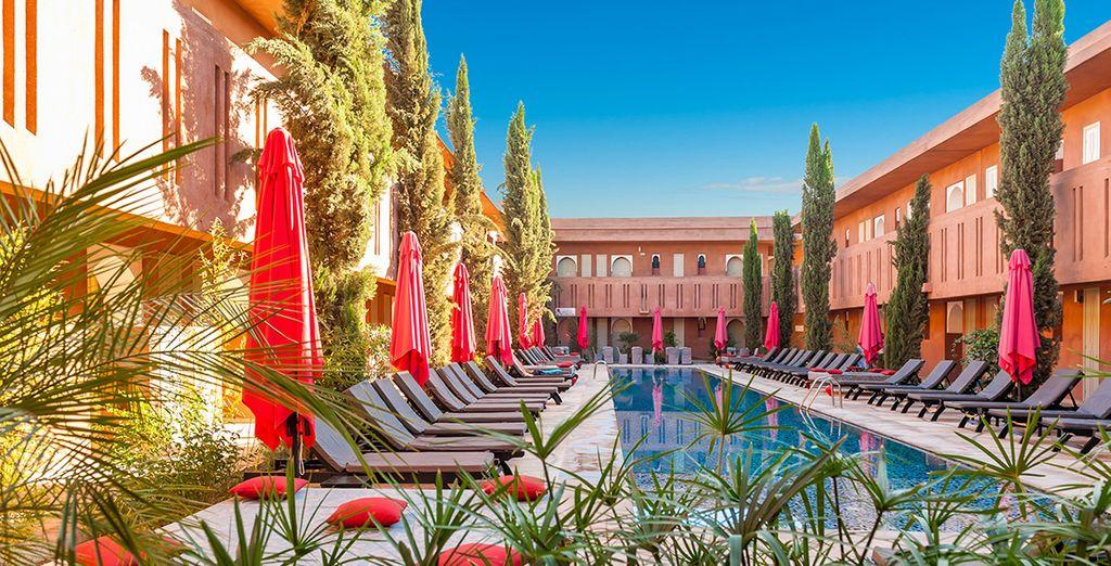 Willkommen zu Hause... in Marrakesch!