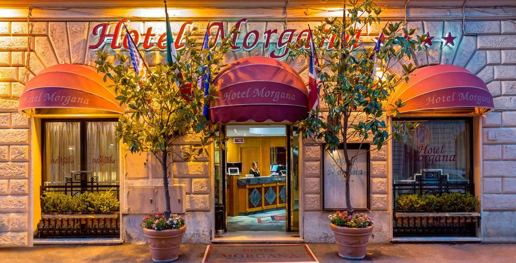 Ein elegantes Hotel im Herzen von Rom erwartet Sie