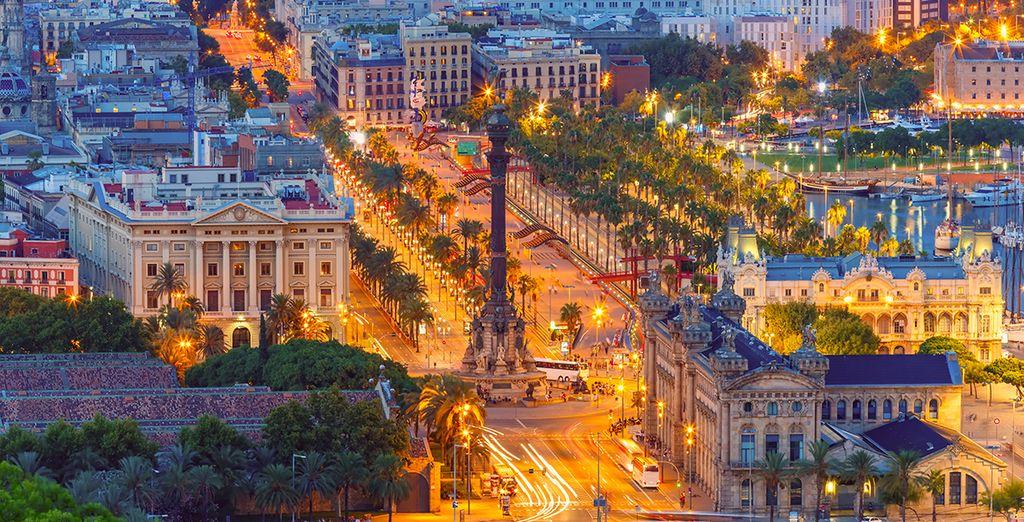 Das Hotel liegt nur 100 Meter von der Plaza de Catalunya und Las Ramblas