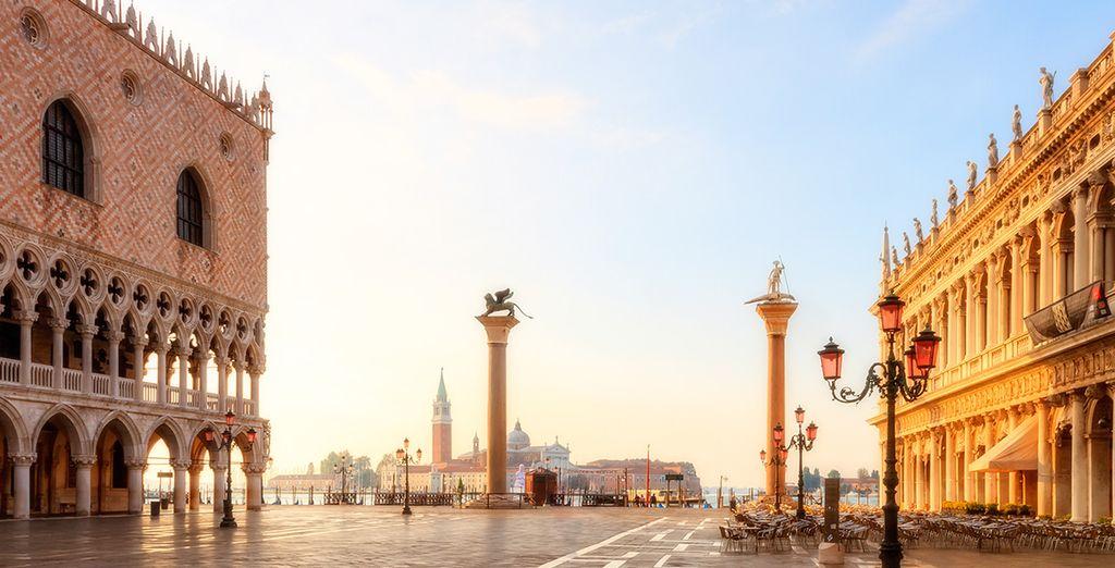 Wir wünschen Ihnen einen wunderschönen Aufenthalt in Venedig!