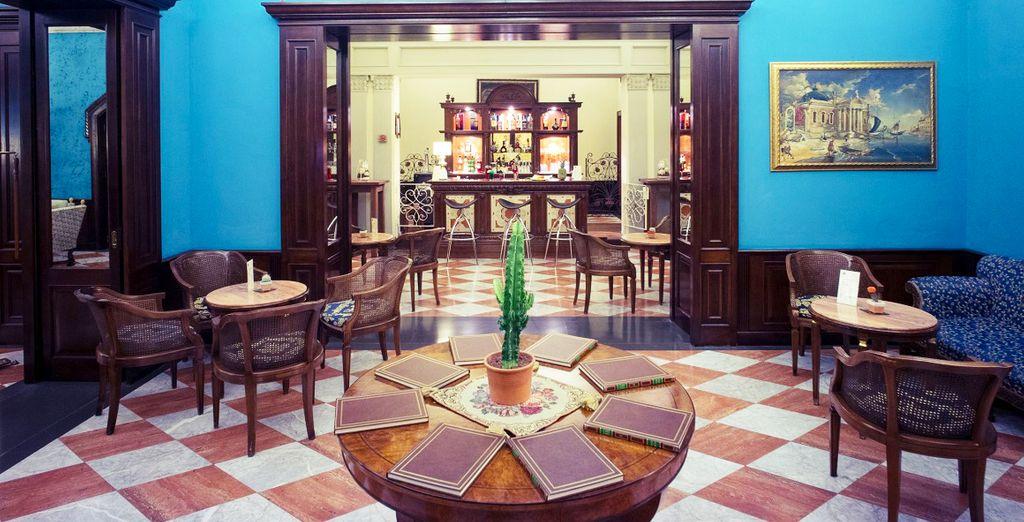 Ein Hotel im Barock-Stil nur wenige Schritte von der Kathedrale entfernt