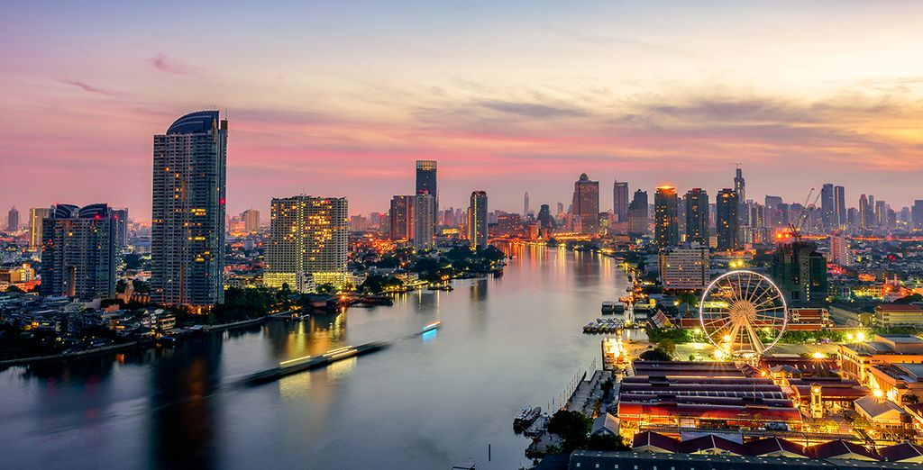Entdecken Sie das lebendige Bangkok...