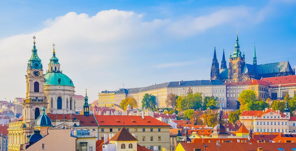 Wir wünschen Ihnen einen schönen Aufenthalt in Tschechien!