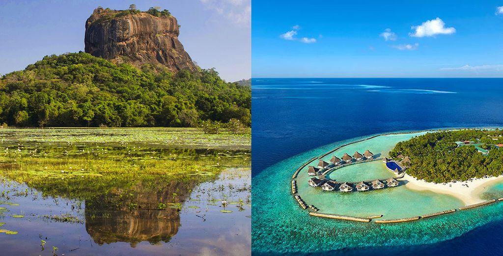 Sri Lanka Rundreise und Strandaufenthalt auf den Malediven mit Voyage Privé