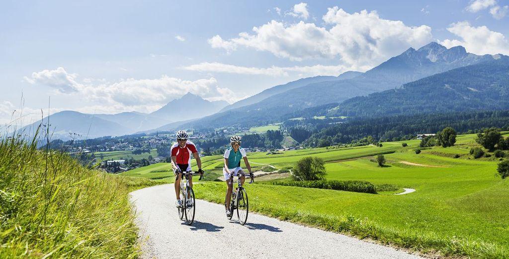 Verbringen Sie ein Wellnesswochenende in Österreich, um neue Energie zu tanken