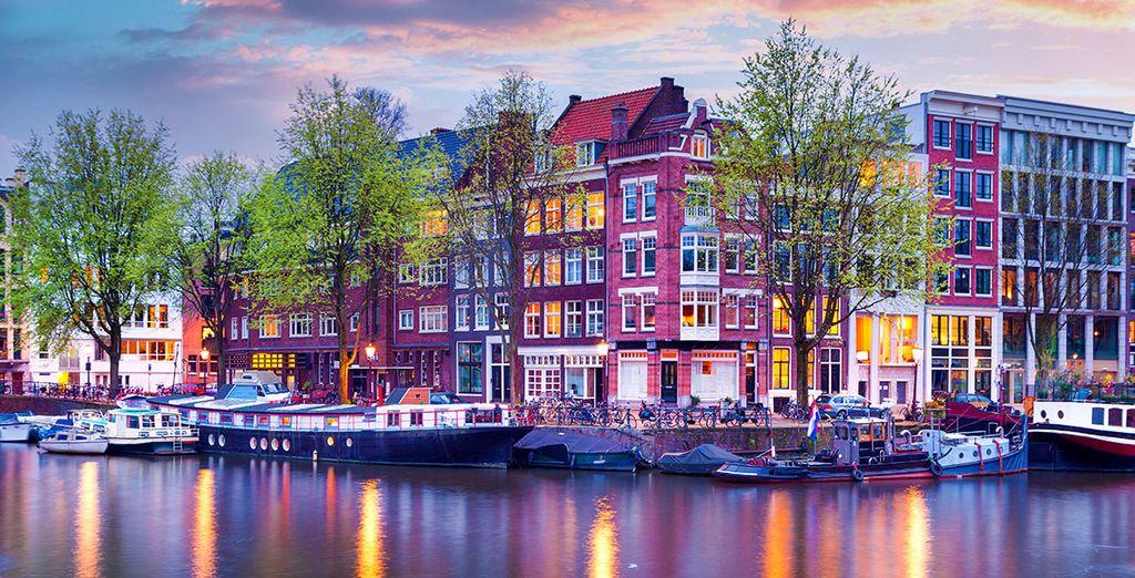 Bilderberg Garden Hotel 5*, Rijksmuseum & Bootsfahrt auf den Graachten