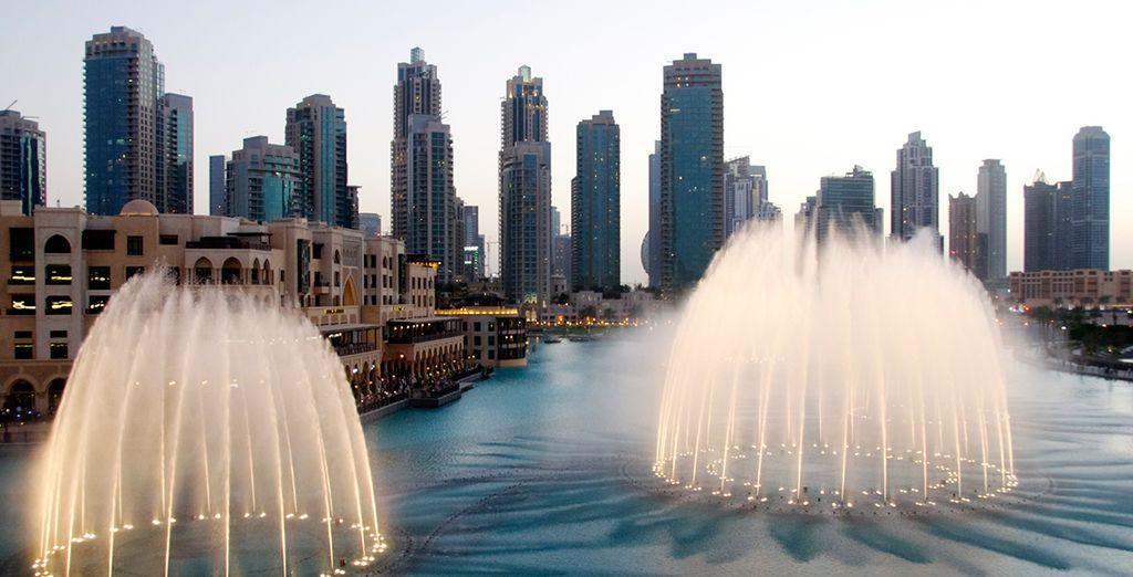 Die prächtigen Brunnen von Dubai