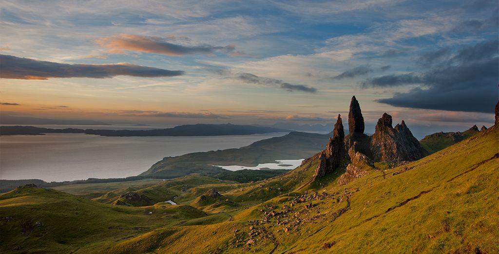 Bewundern Sie die Schönheit der Insel Skye