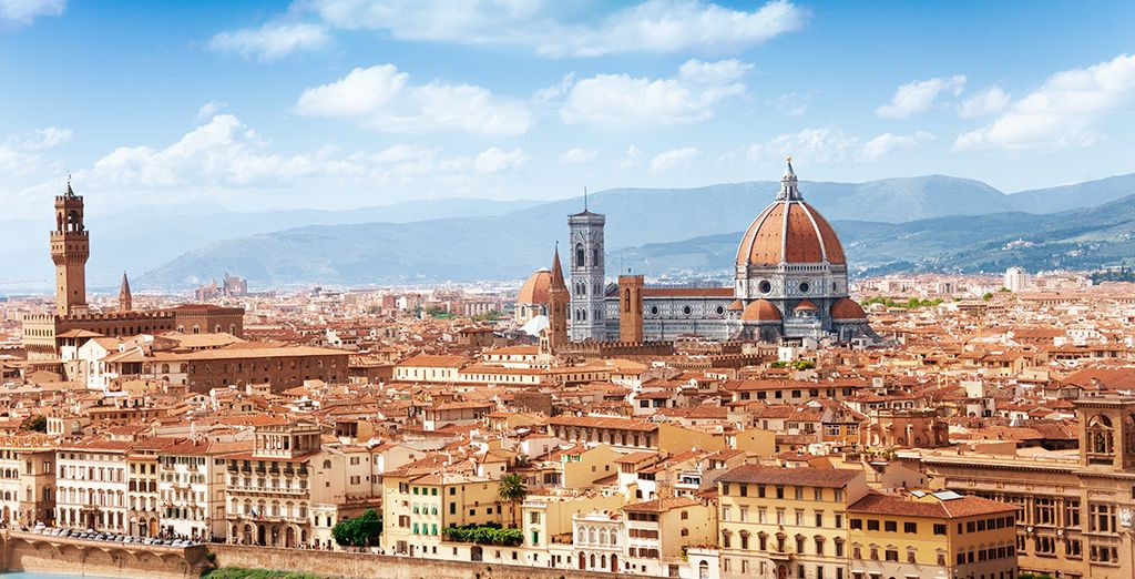 Urlaub in Florenz, in Toskana