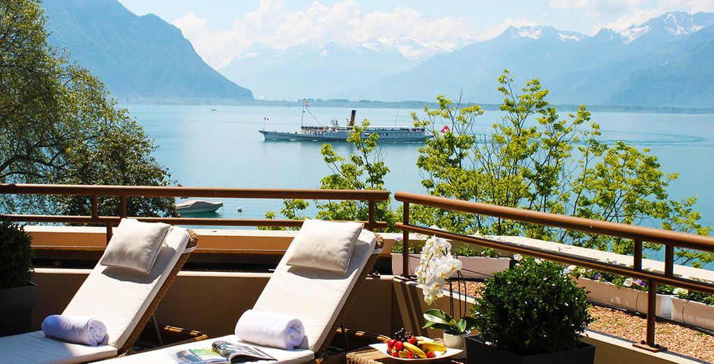 Buchen Sie ein Wochenende zwischen dem Wohlbefinden allein im Hotel Royal Plaza Montreux und Spa