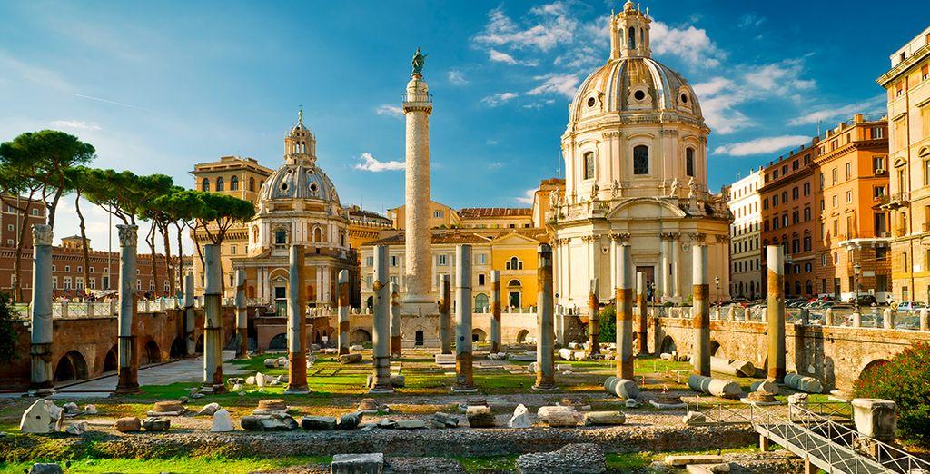 Machen Sie eine Reise in die Vergangenheit, indem Sie Rom besuchen