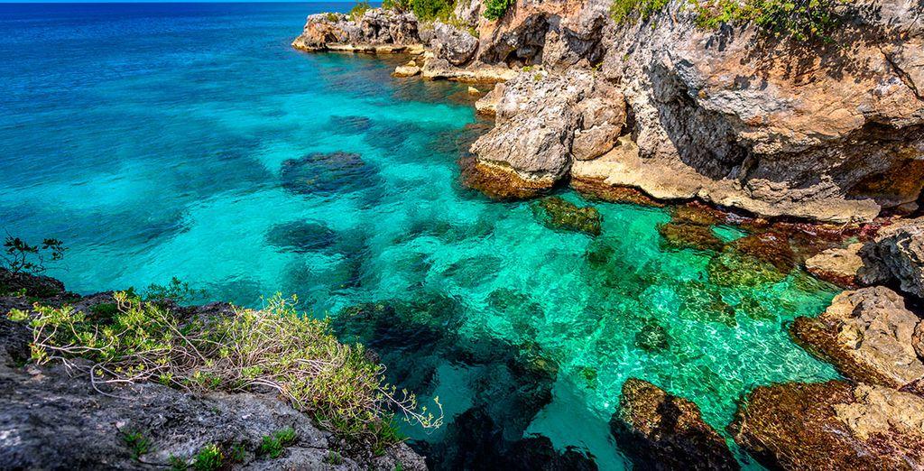 Die schönen Landschaften von Jamaika