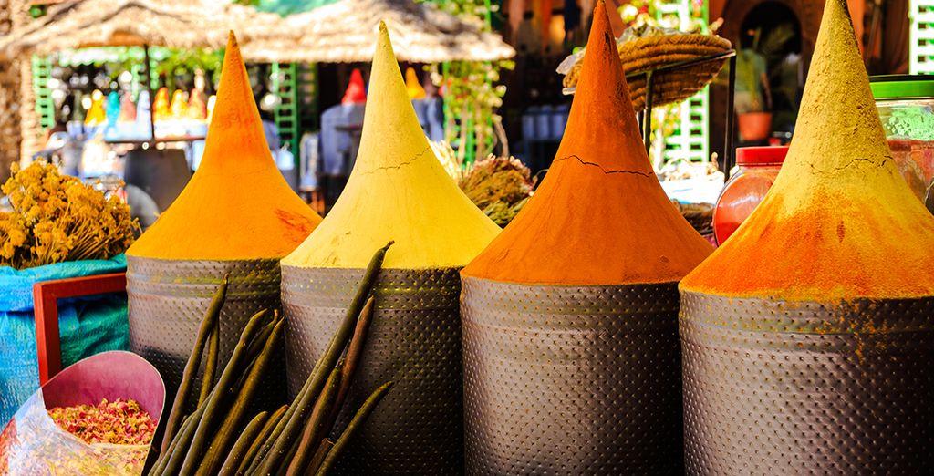 Bringen Sie traditionelle Erinnerungen an Ihre Reise nach Marokko zurück.