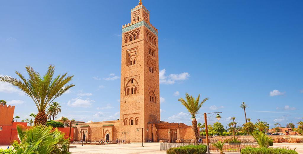Entdecken Sie die Denkmäler Marokkos während Ihrer Reise