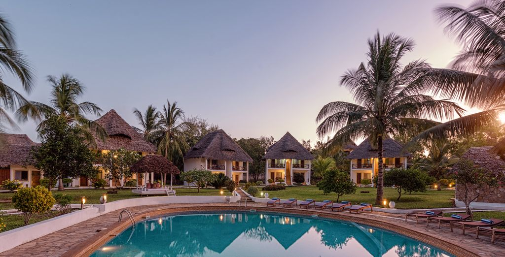 Filao Beach Zanzibar 4* mit optionaler Safari mit Voyage Privé